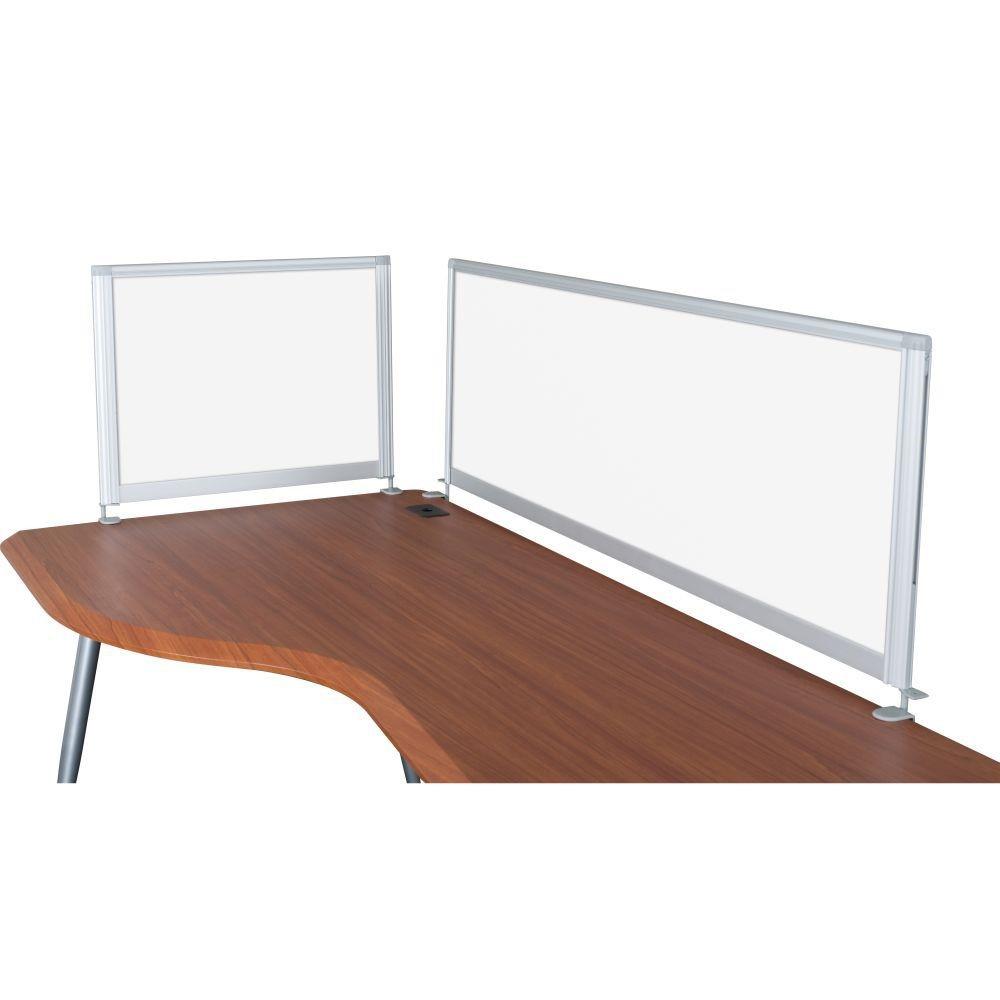 Laminate bathroom panels - Balt Desktop Privacy Panel 58 Quot Pebbles Vinyl Lt Quarry