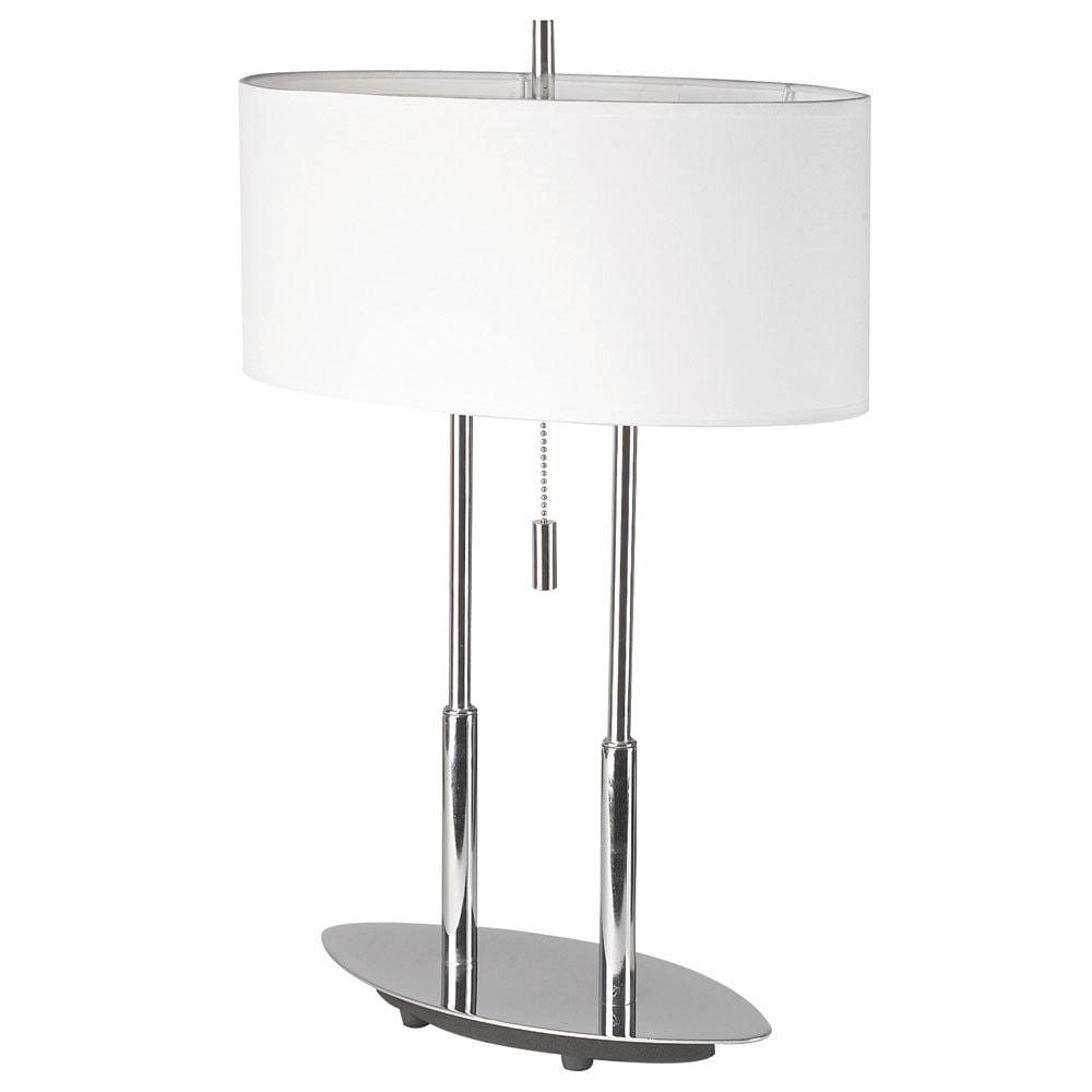 Table Lamp, Oval Shade