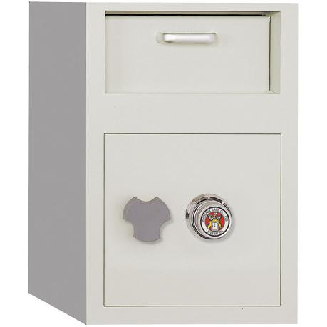 Front Loading Dial Combination Lock Depository Safe 0.8 cu ft