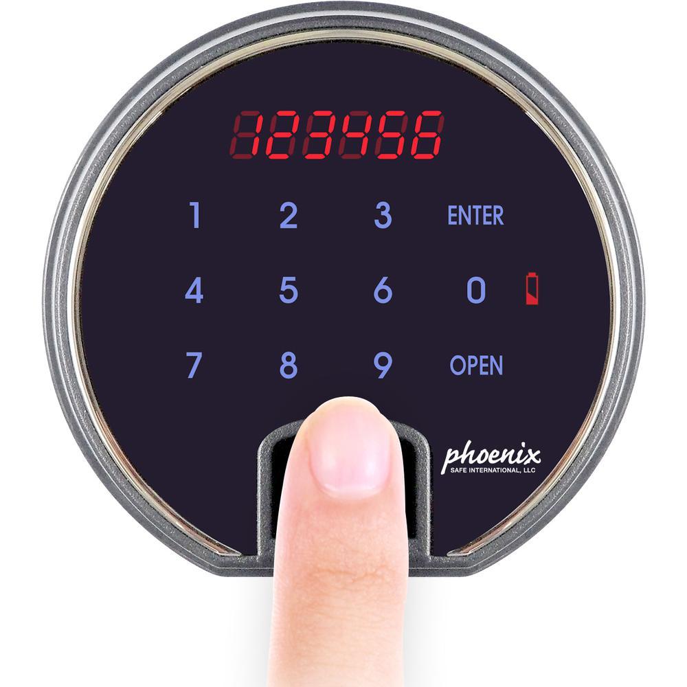Dbaum Fingerprint Lock Luxury Fireproof Safe with Walnut Door 2.28 cu ft. Picture 5