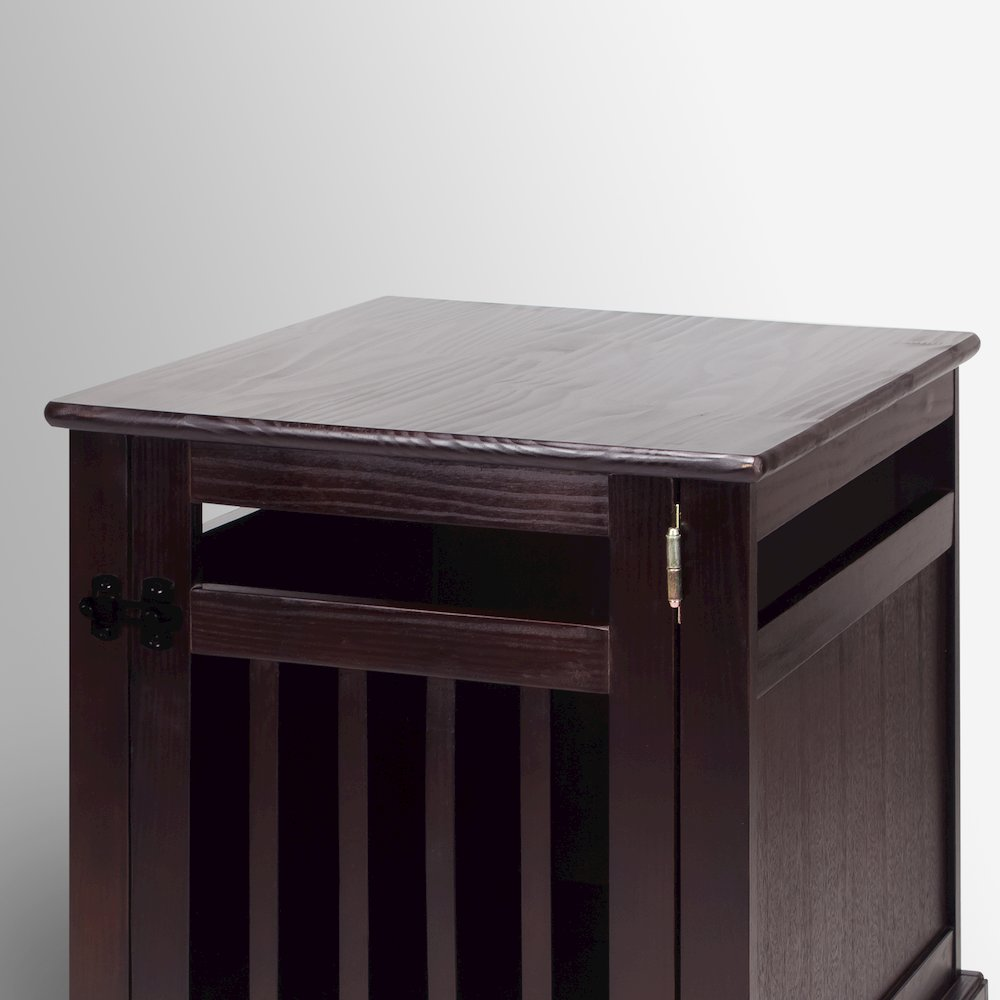 Chappy Pet Crate with Wood Slats. Picture 8