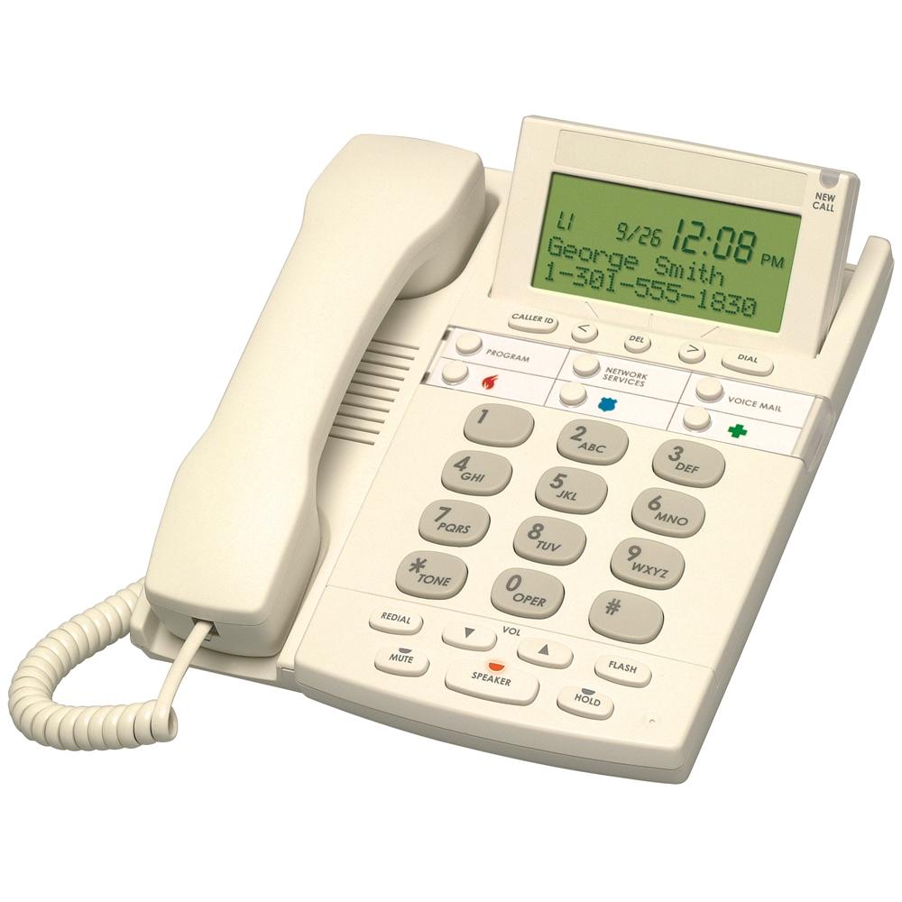 Big Button Single Line Telephone W Dsl