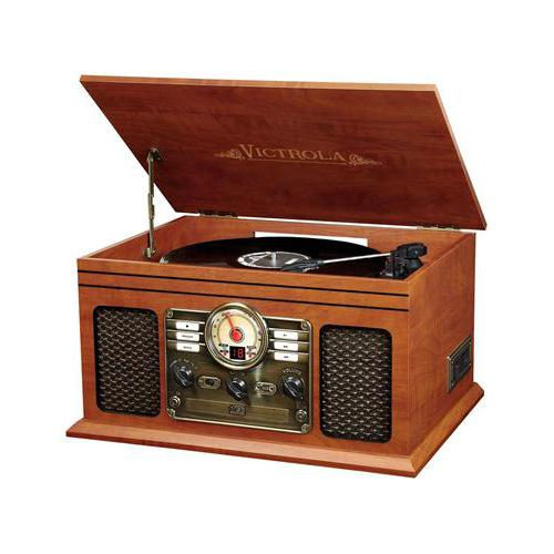 6-in-1 Victrola Entertainment Center. Picture 2