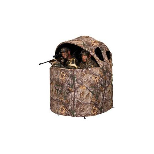 Deluxe Tent Chair Blind in Realtree Edge. Picture 2