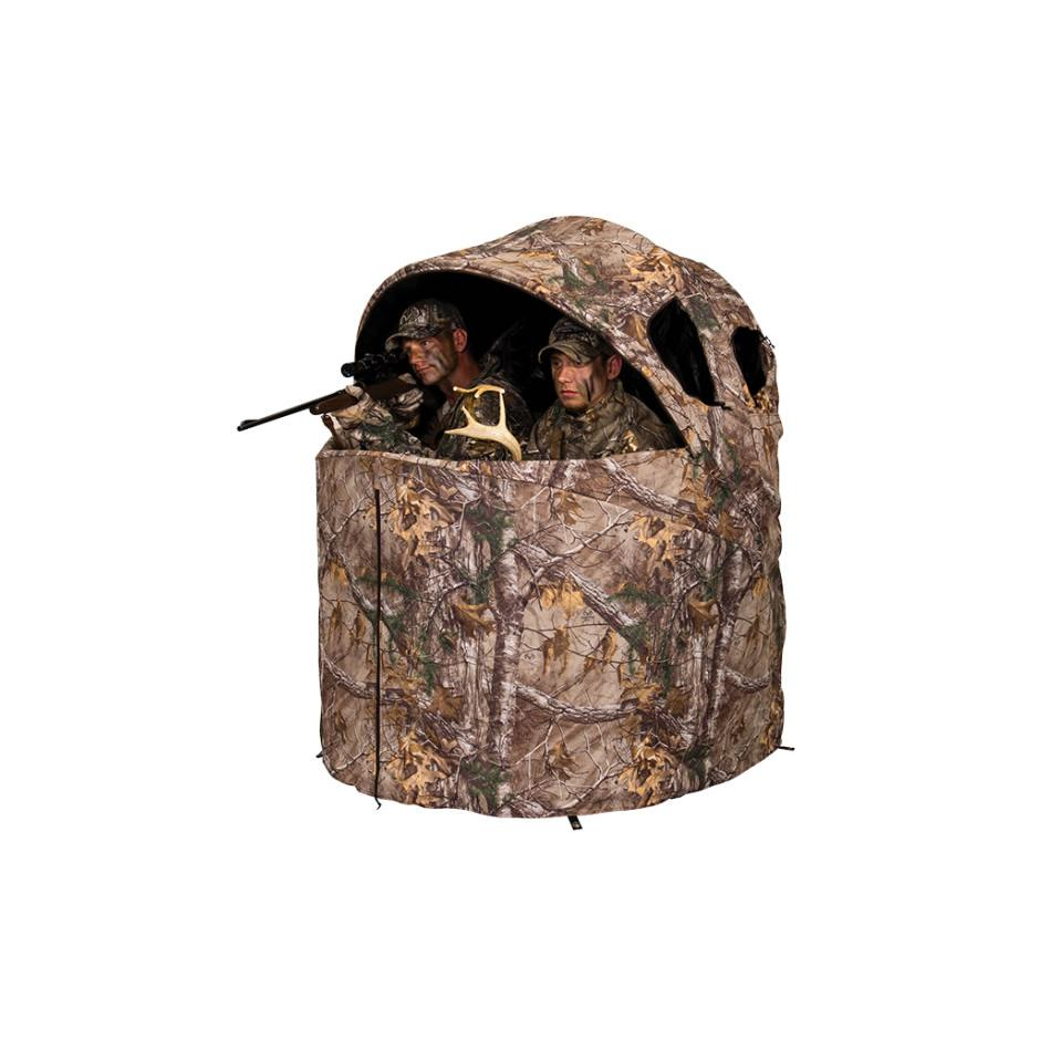 Deluxe Tent Chair Blind in Realtree Edge. Picture 1