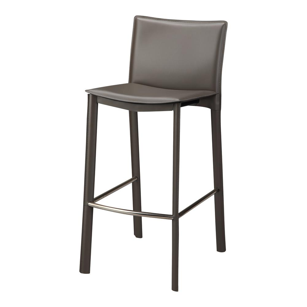 "Panca Counter Stool 26"" Charcoal. Picture 1"