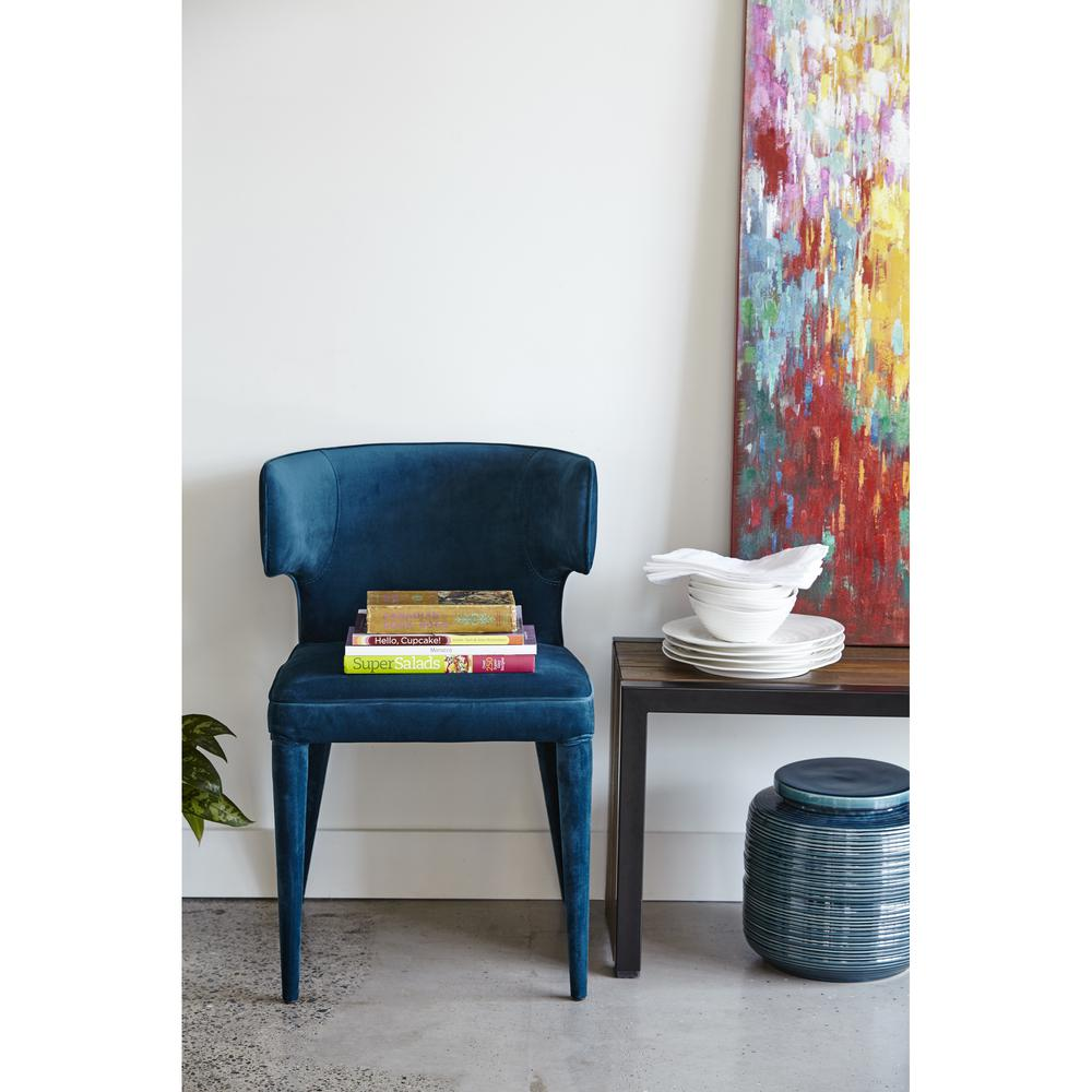 Jennaya Dining Chair Teal. Picture 5