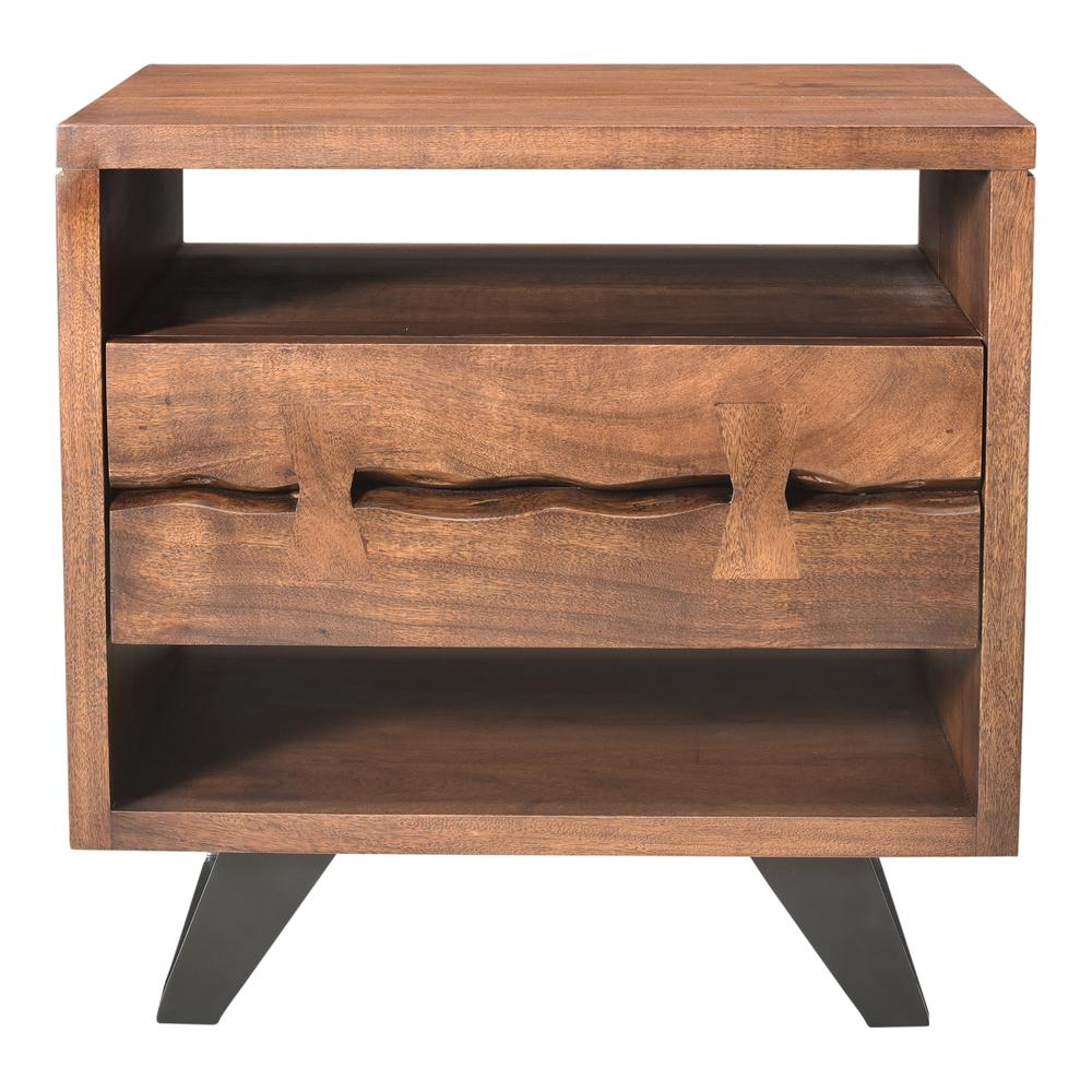 Madagascar Nightstand, Brown. Picture 7