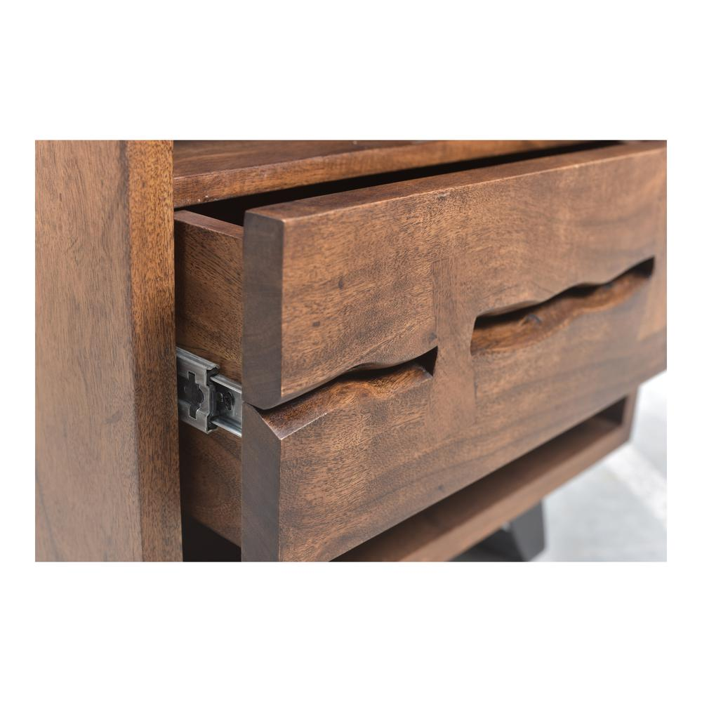 Madagascar Nightstand, Brown. Picture 5