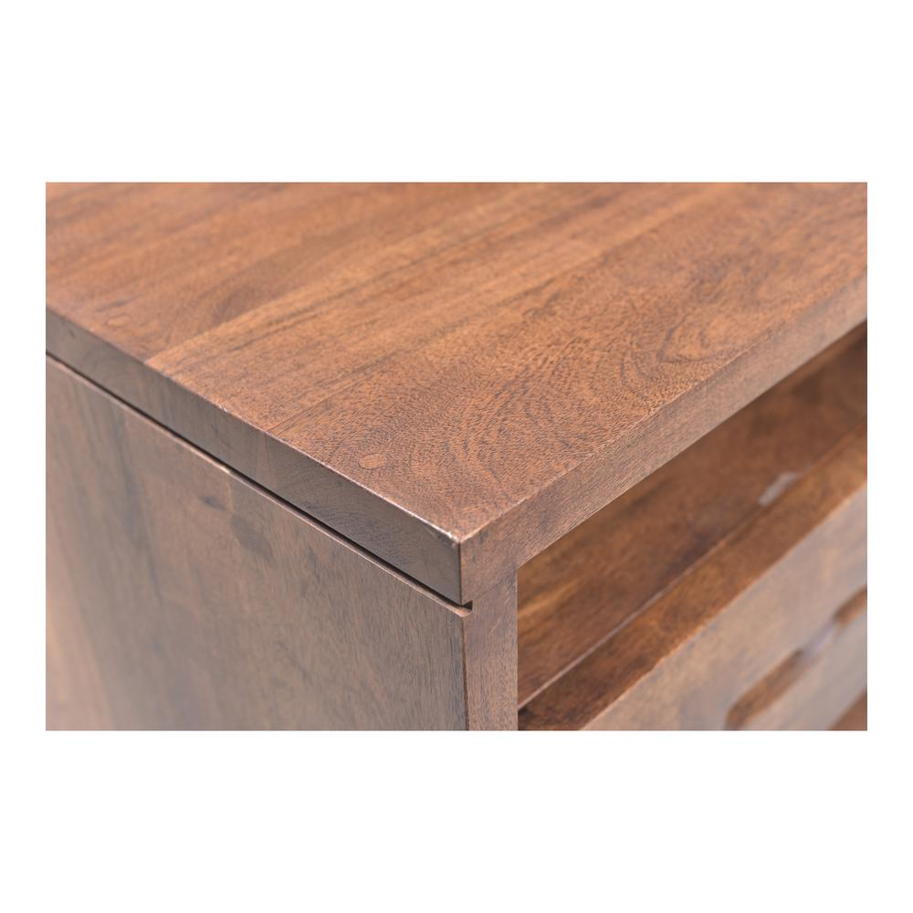 Madagascar Nightstand, Brown. Picture 3