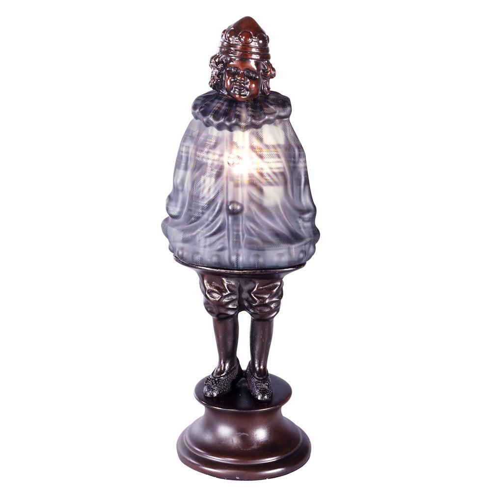 """Springdale 12.5""""H Scotch Boy Plaid Accent Lamp"""