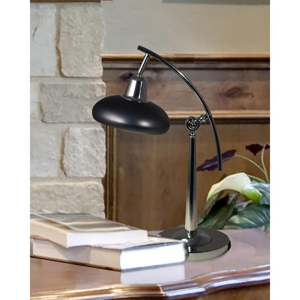 "Springdale 18.75""H Pivot Multi-Direction LED Desk Lamp With USB Charger"