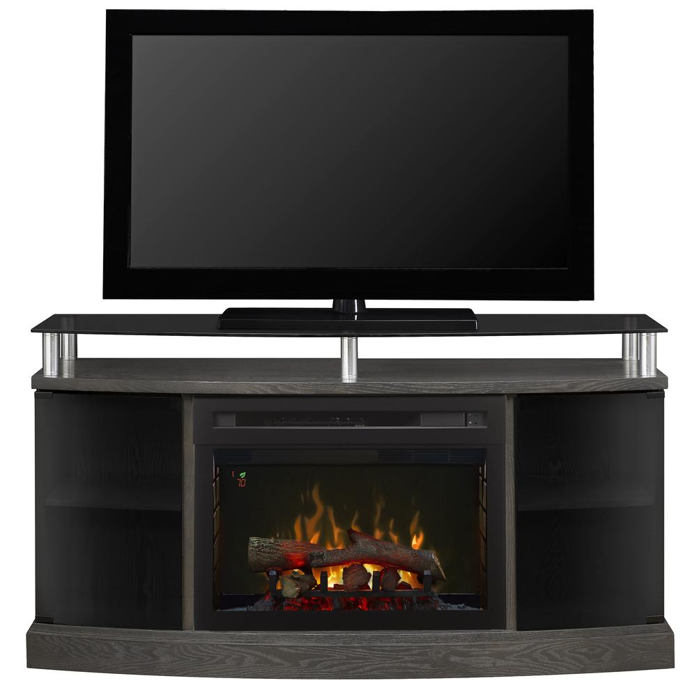 Phenomenal Dimplex Windham Media Console Electric Fireplace With Logs By Dimplex Download Free Architecture Designs Scobabritishbridgeorg