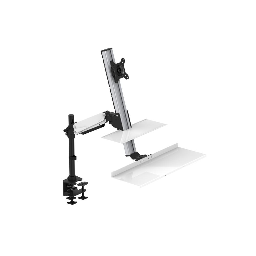 Rocelco Ergonomic Floating Desk with Tray. Picture 2
