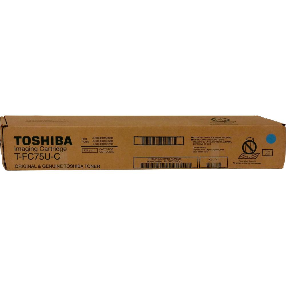 Toshiba Original Toner Cartridge - Cyan - Laser - Standard Yield - 29500 Pages - 1 Each. Picture 1