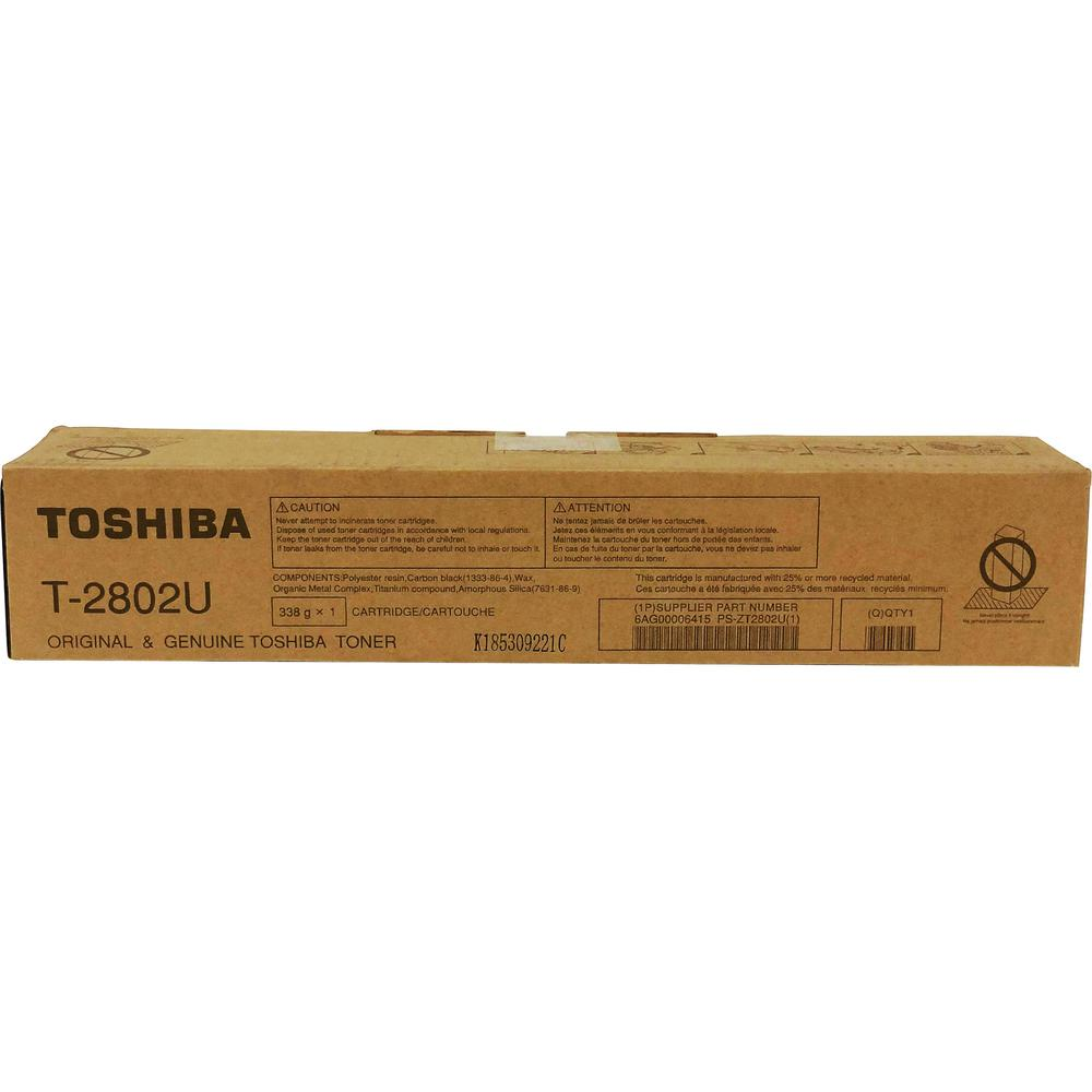 Toshiba Original Toner Cartridge - Black - Laser - 14600 Pages - 1 Each. Picture 1