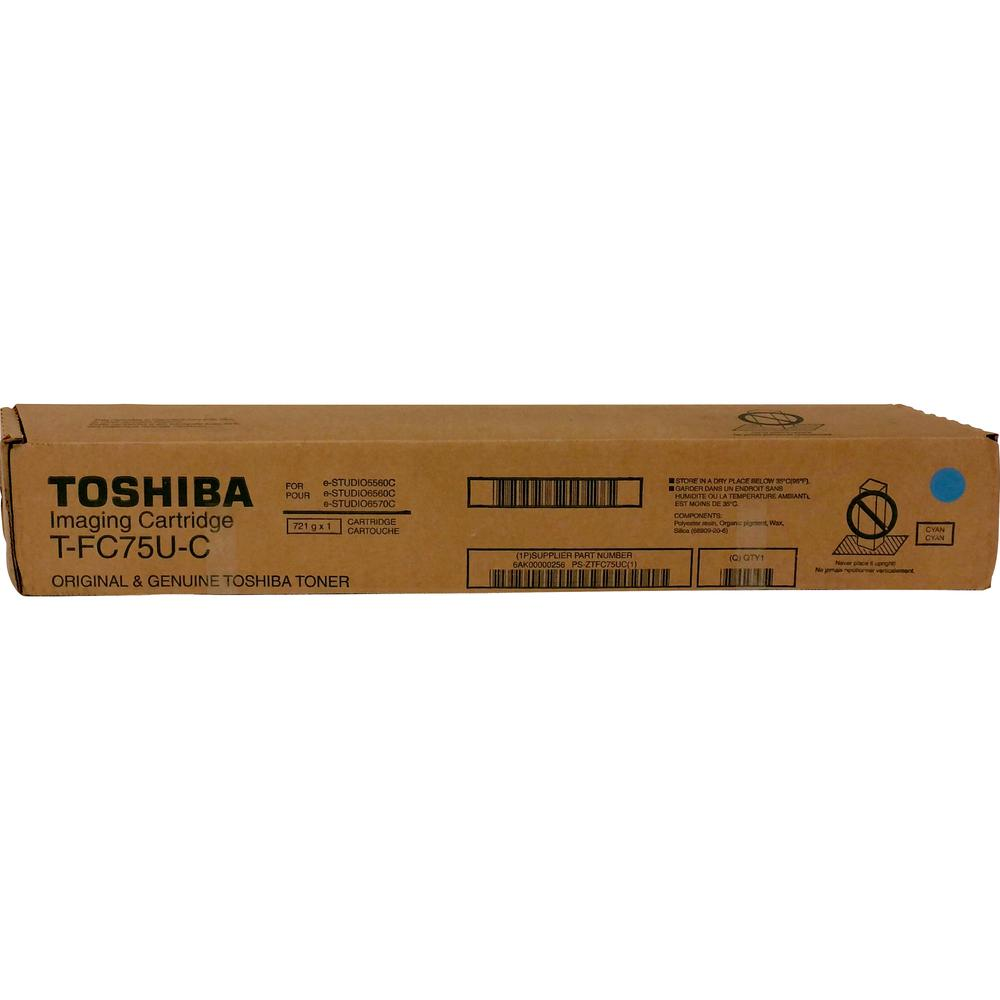 Toshiba Original Toner Cartridge - Cyan - Laser - Standard Yield - 29500 Pages - 1 Each. Picture 2