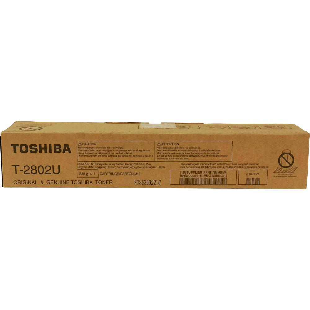 Toshiba Original Toner Cartridge - Black - Laser - 14600 Pages - 1 Each. Picture 2
