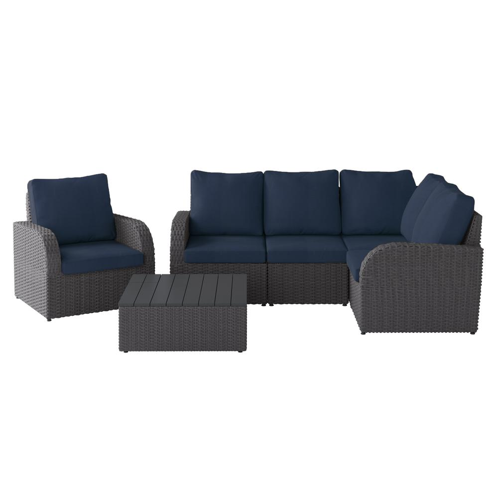 Square Coffee Table Brisbane: Weather Resistant Corner Sectional With Square Coffee