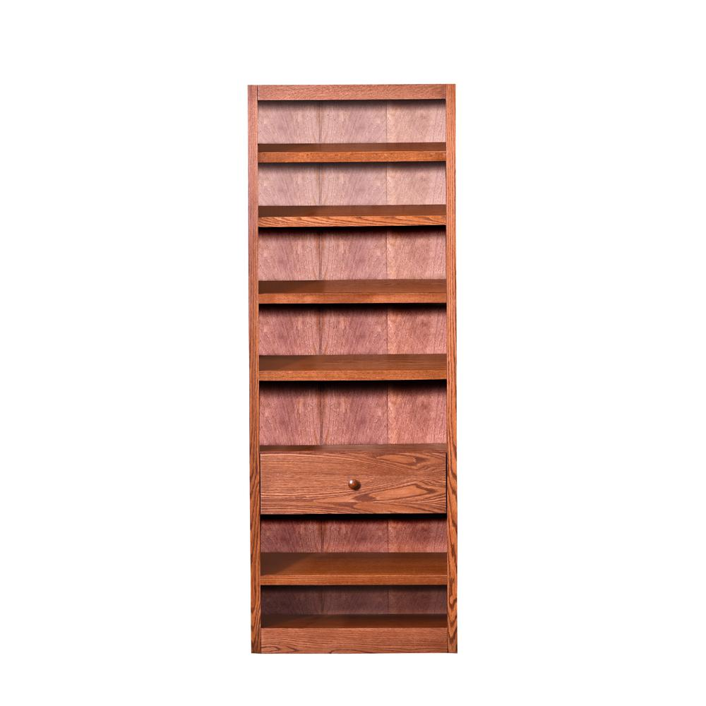 Concepts In Wood Shoe Rack with Drawer, Dry Oak Finish. Picture 2