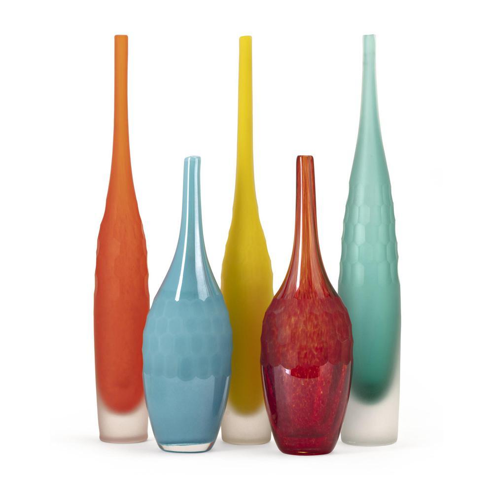 Kepla Glass Vases Set Of 5