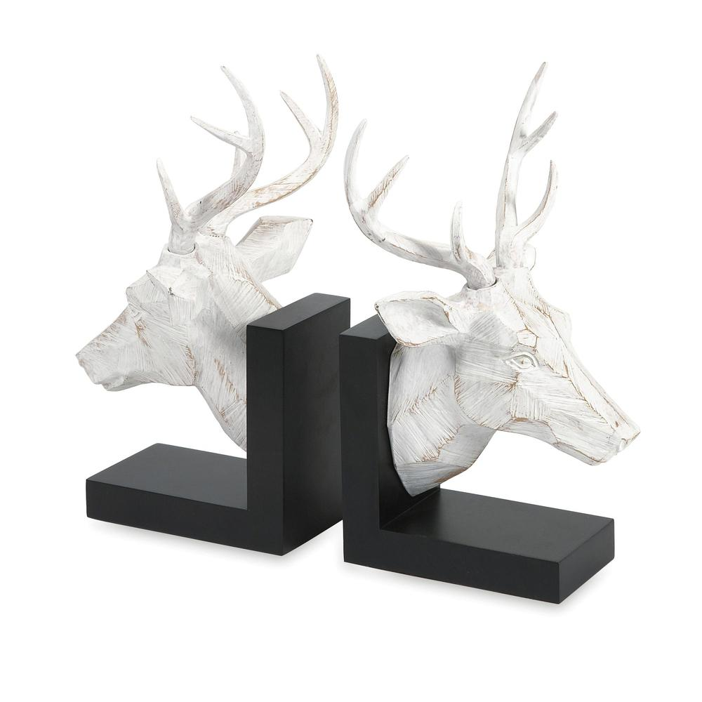 Joseph Deer Bookends - Set of 2. Picture 1