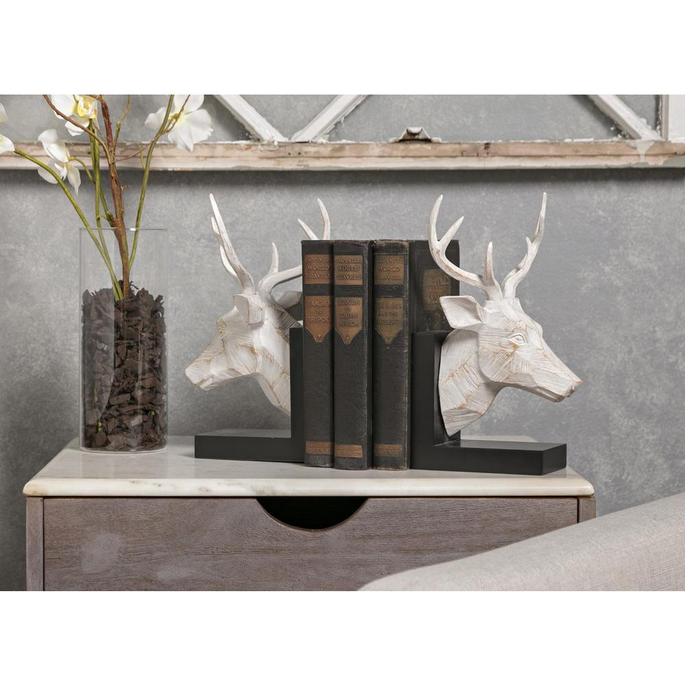 Joseph Deer Bookends - Set of 2. Picture 2
