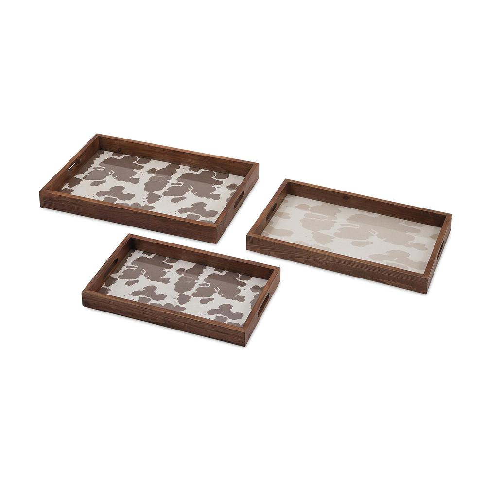 Trisha Yearwood Cowboy Trays - Set of 3