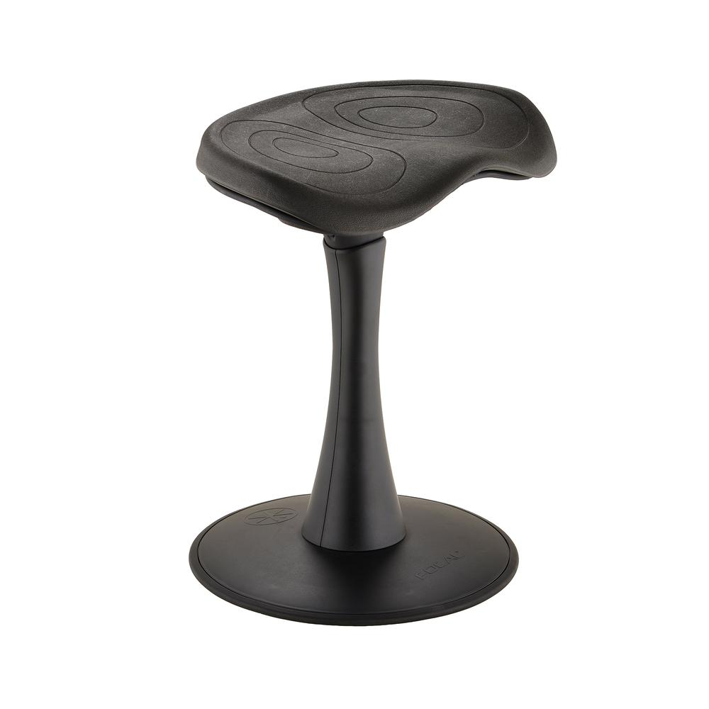 "Fidget™ Active Stool 18"", Black"