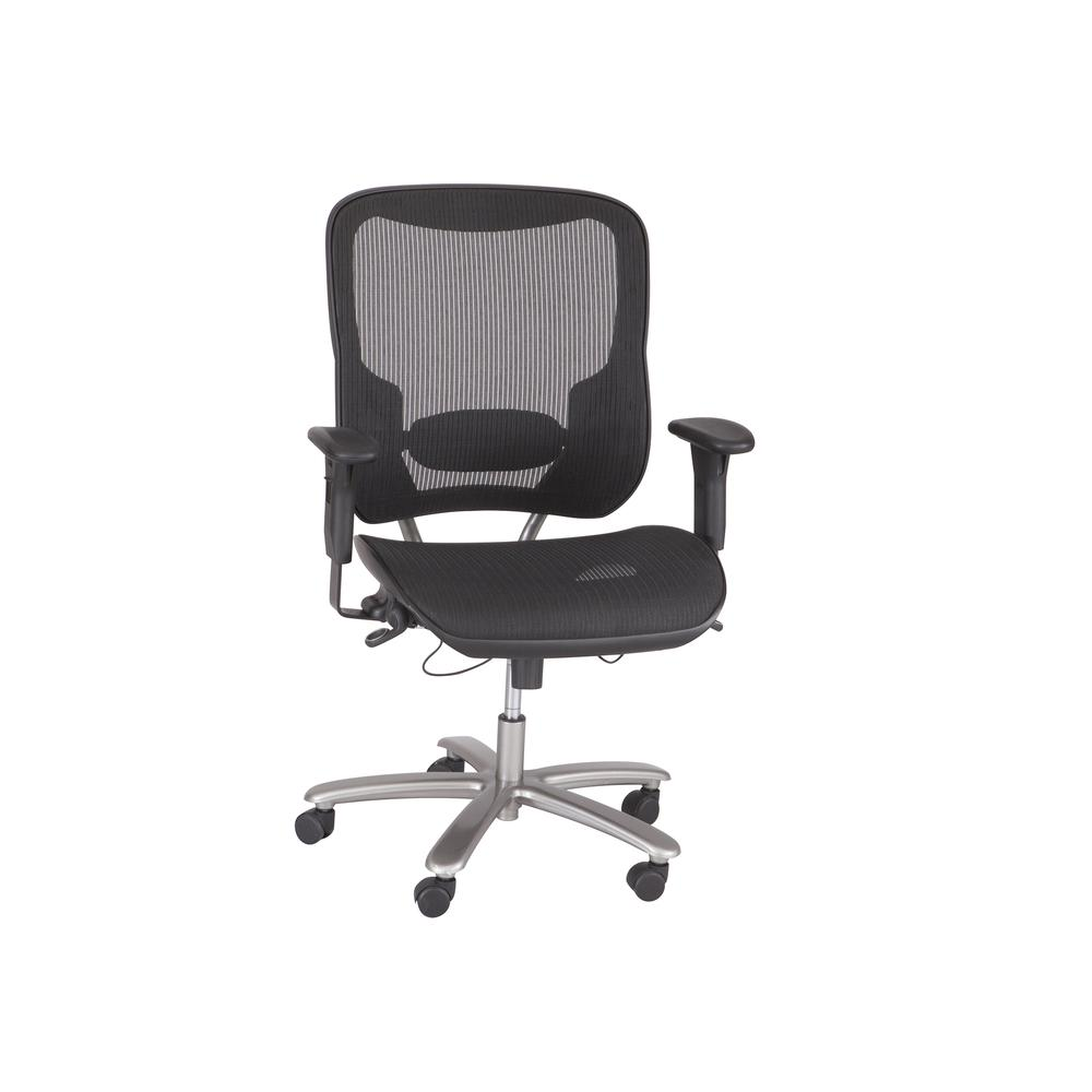 Big & Tall All-Mesh Chair, Black