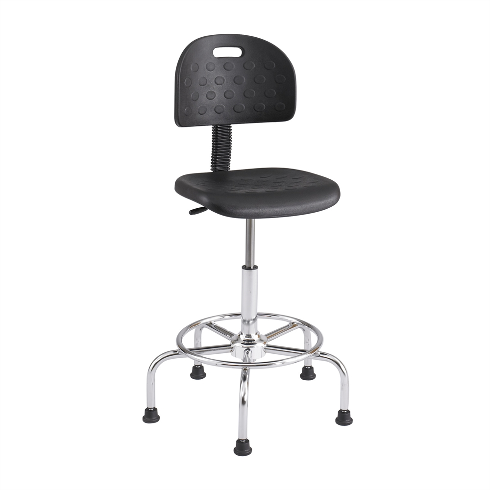 WorkFit™ Economy Industrial Chair Black. Picture 1