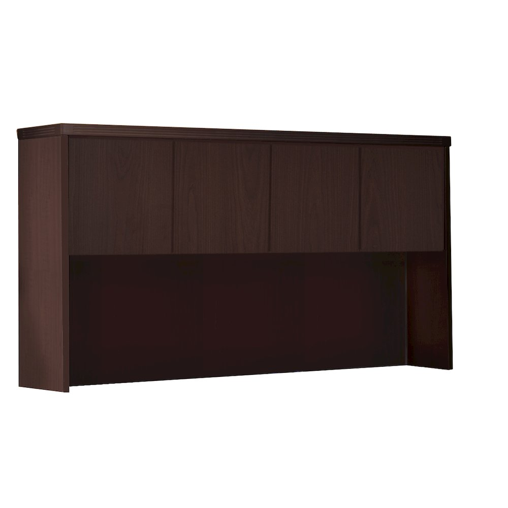 """60"""" Hutch with Wood Doors, Mocha. Picture 1"""
