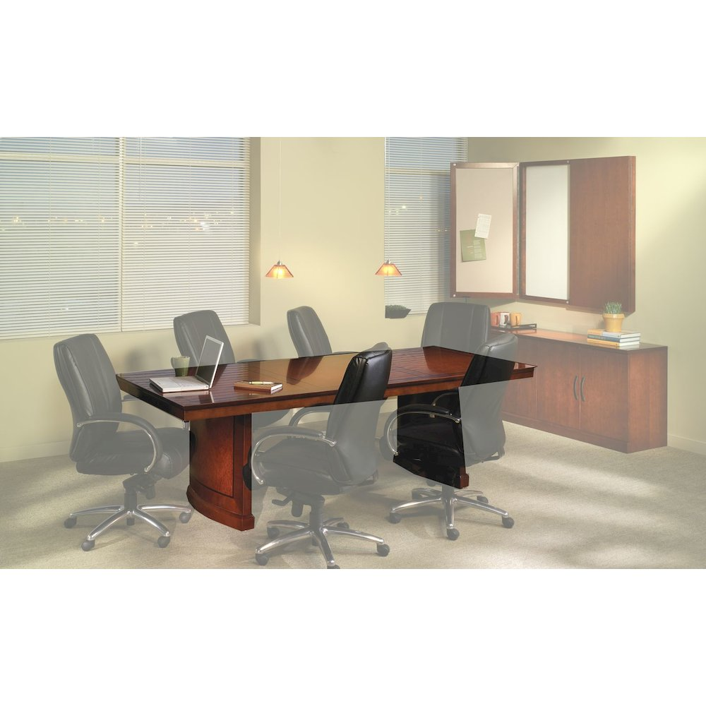 CONFERENCE ROOM TABLES Rectangular Bourbon Cherry - Cherry conference room table