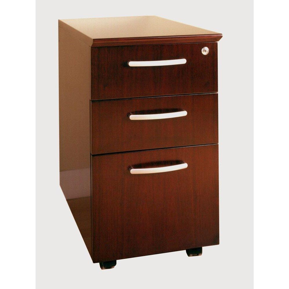 Mobile Pedestals Box-Box-File, Sierra Cherry. Picture 1