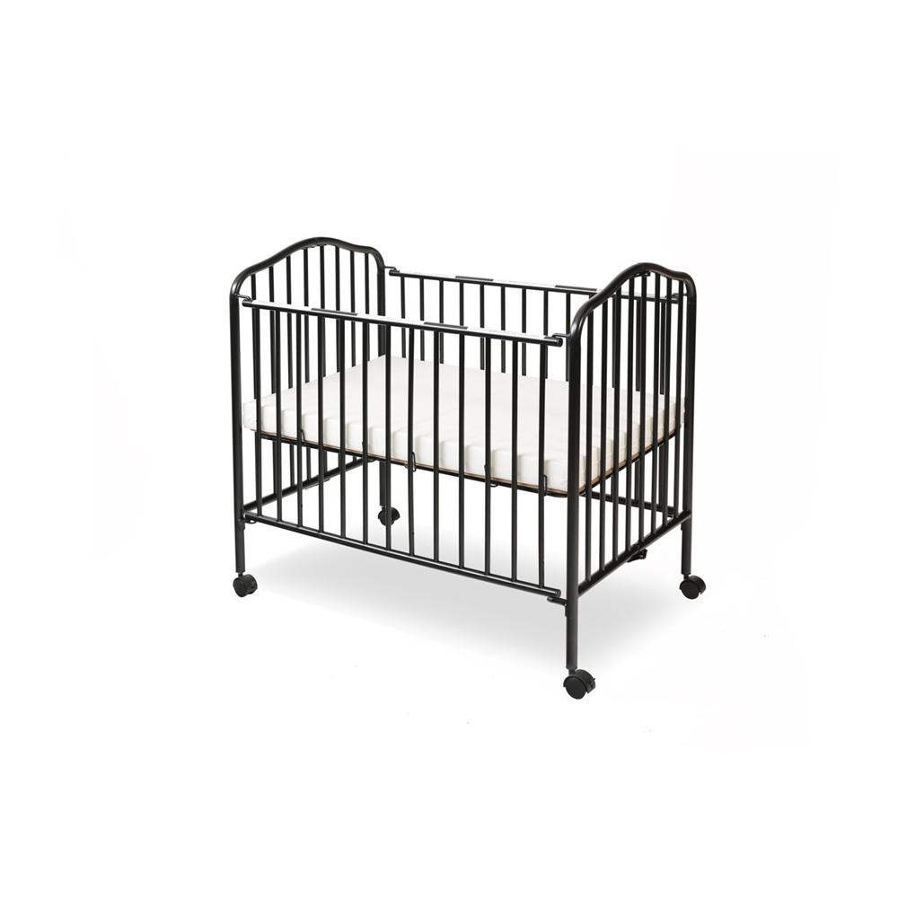 Mini/Portable/Compact Crib, Black. Picture 2