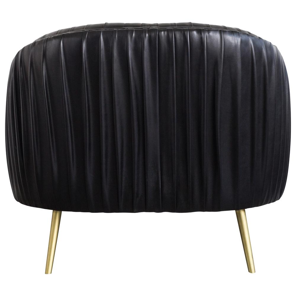 Pleasing Anna Pu Leather Pleated Accent Chair Treasure Black By New Pacific Direct Forskolin Free Trial Chair Design Images Forskolin Free Trialorg