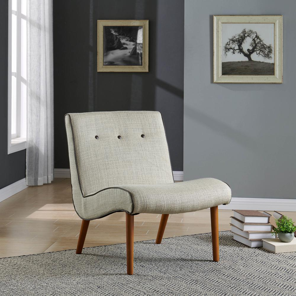 Alexis Fabric Chair Canvas