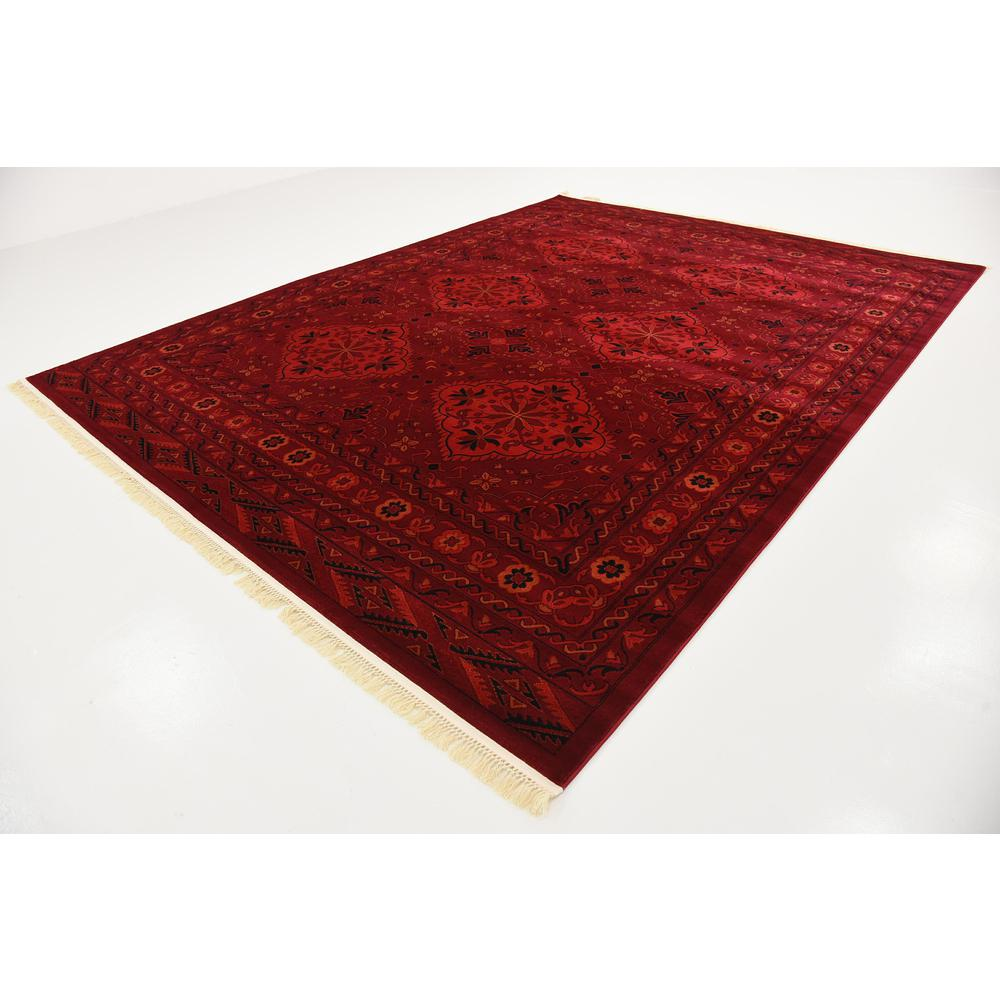 McKinley Tekke Rug, Red (9' 0 x 12' 0). Picture 3