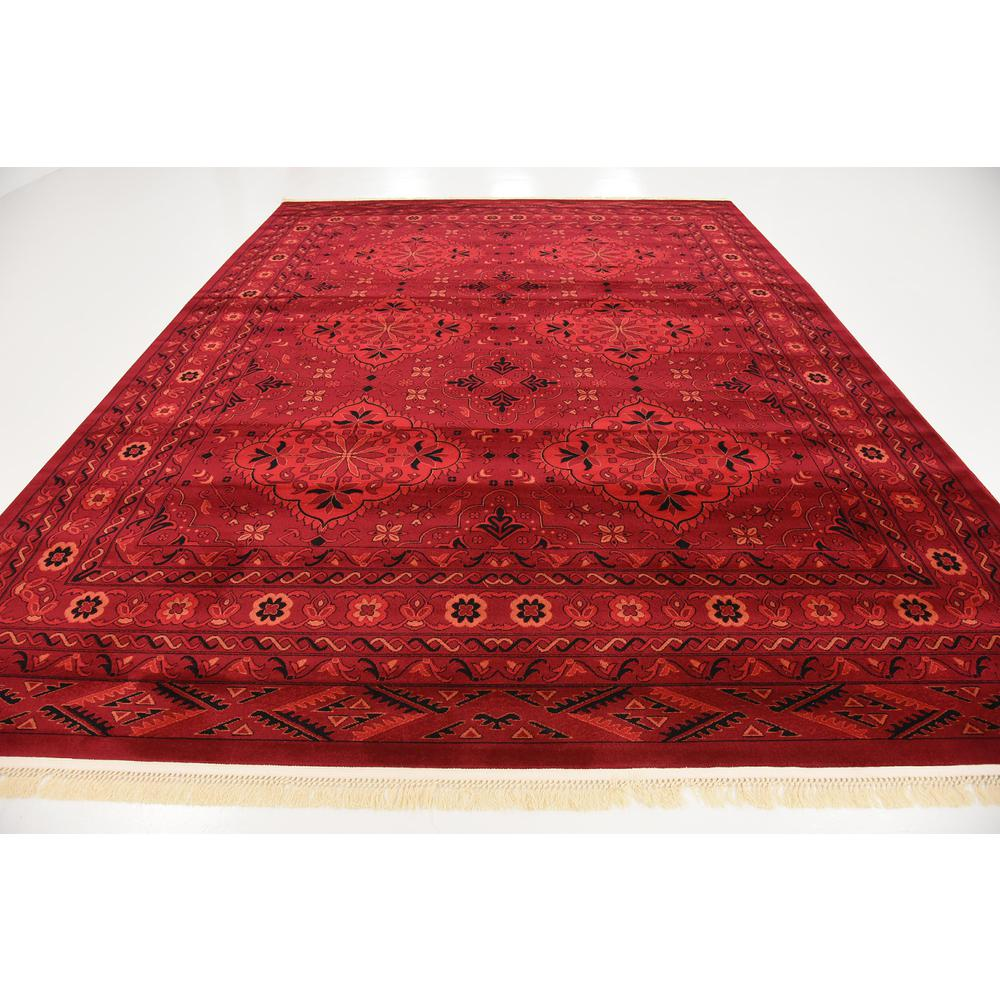 McKinley Tekke Rug, Red (9' 0 x 12' 0). Picture 4