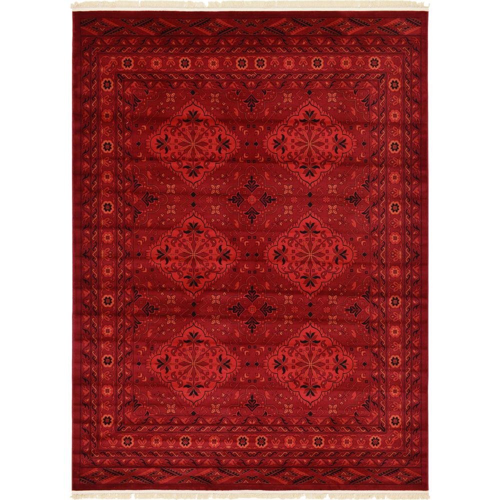 McKinley Tekke Rug, Red (9' 0 x 12' 0). Picture 1