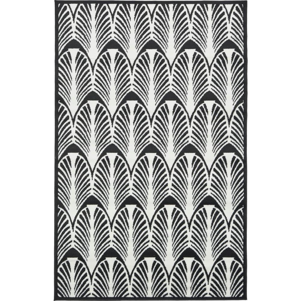 Unique Loom Metro Zebra Rug