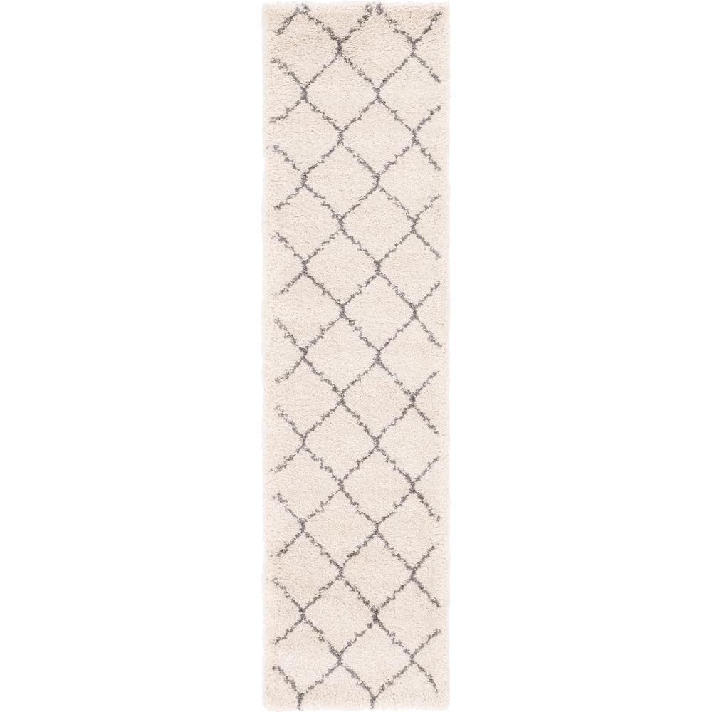Unique Loom Fractured Rabat Shag Rug