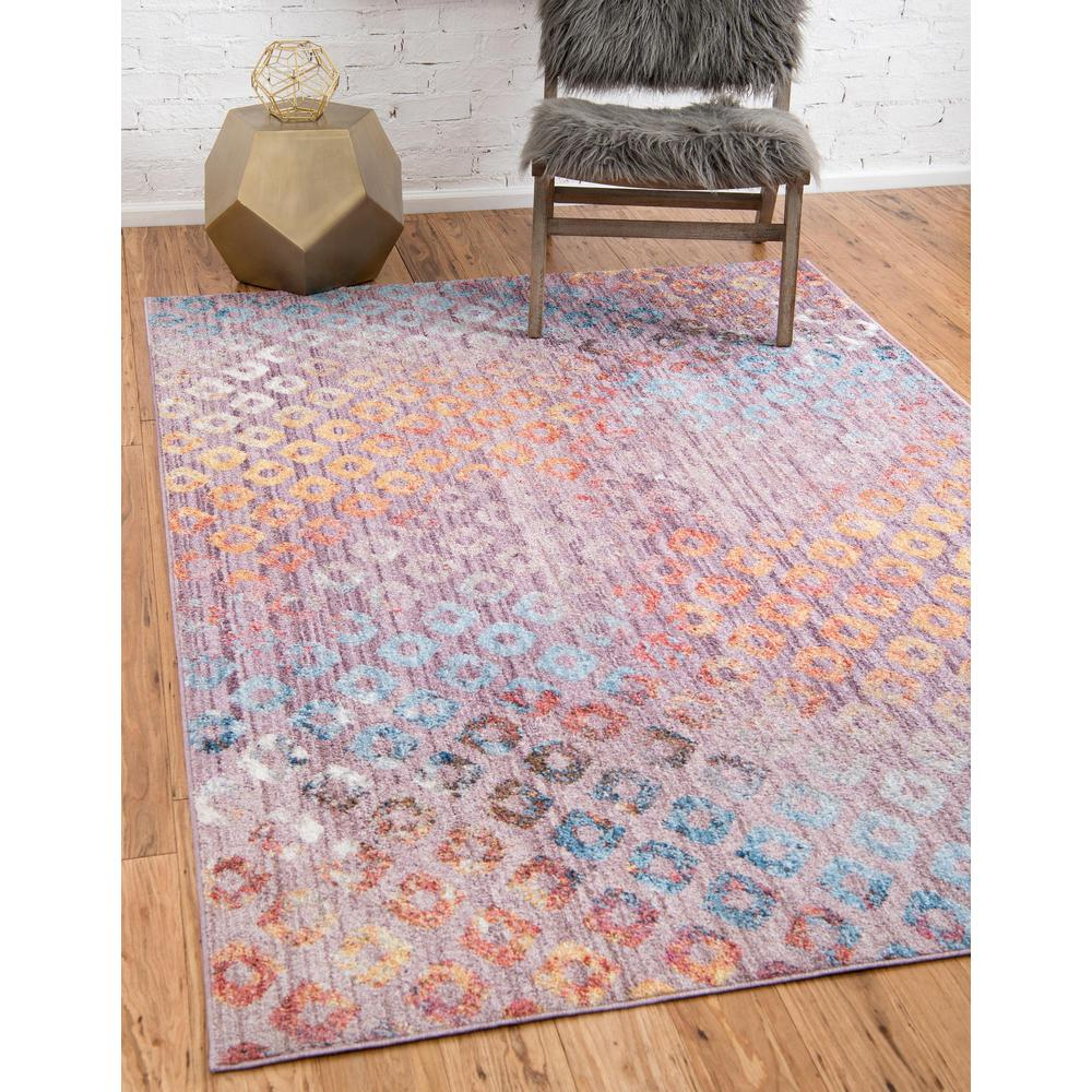 Rainbow Spectral Rug, Violet (2' 2 x 3' 0). Picture 2