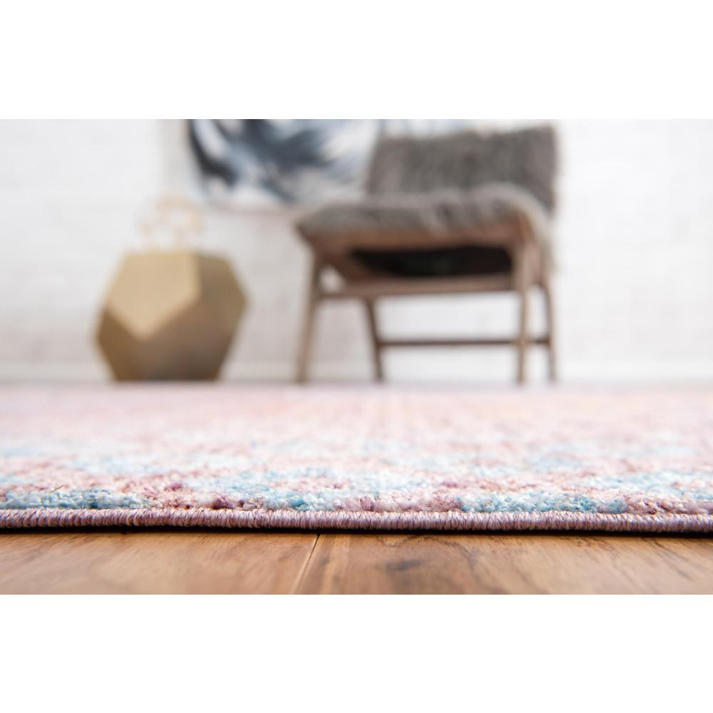 Rainbow Spectral Rug, Violet (2' 2 x 3' 0). Picture 5