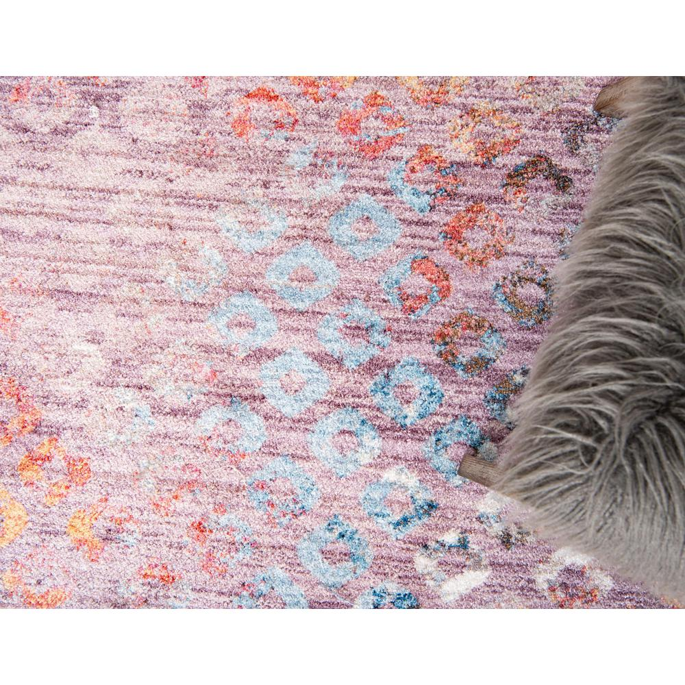 Rainbow Spectral Rug, Violet (2' 2 x 3' 0). Picture 6