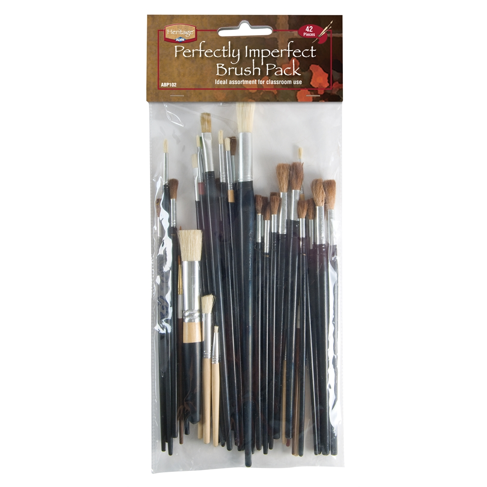 Rubber Point Painting Brushes