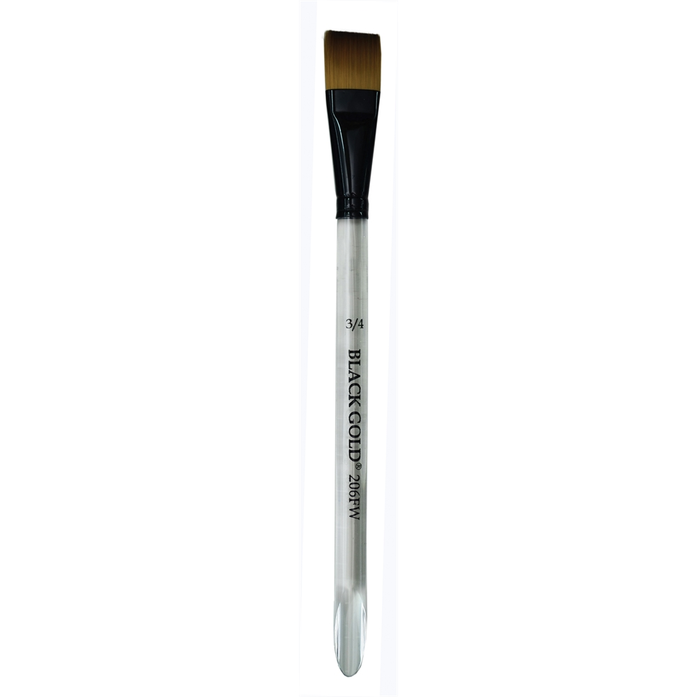 Synthetic Watercolor Brush Flat Wash 1 2