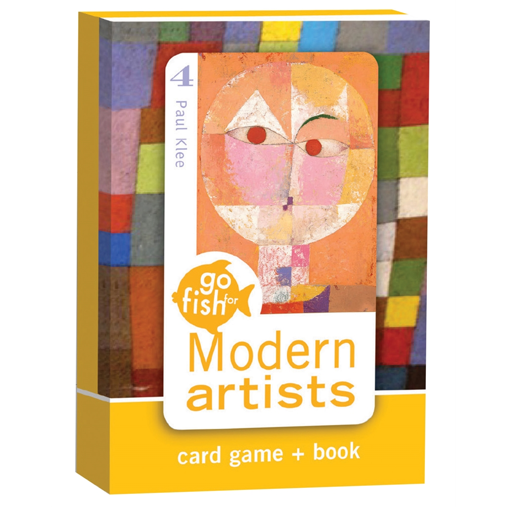 Modern artists go fish card game for Card game go fish