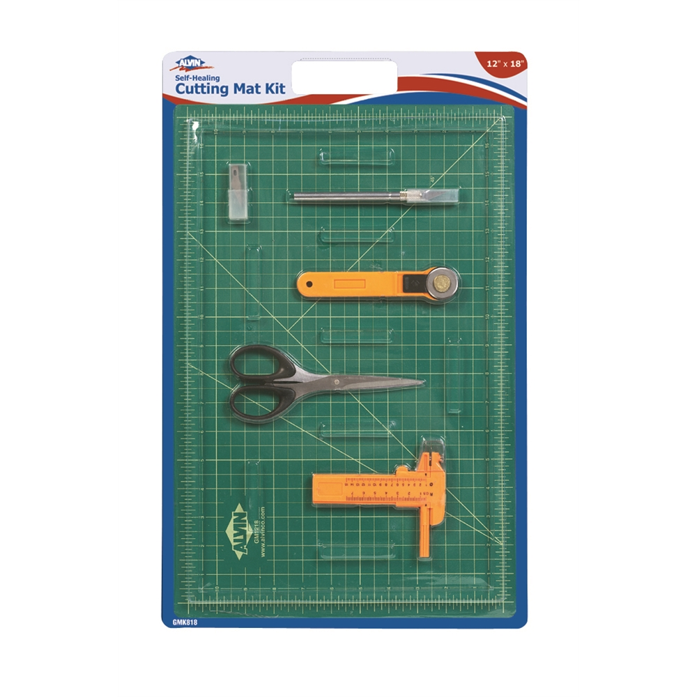 Self Healing Cutting Mat Kit 12 X 18