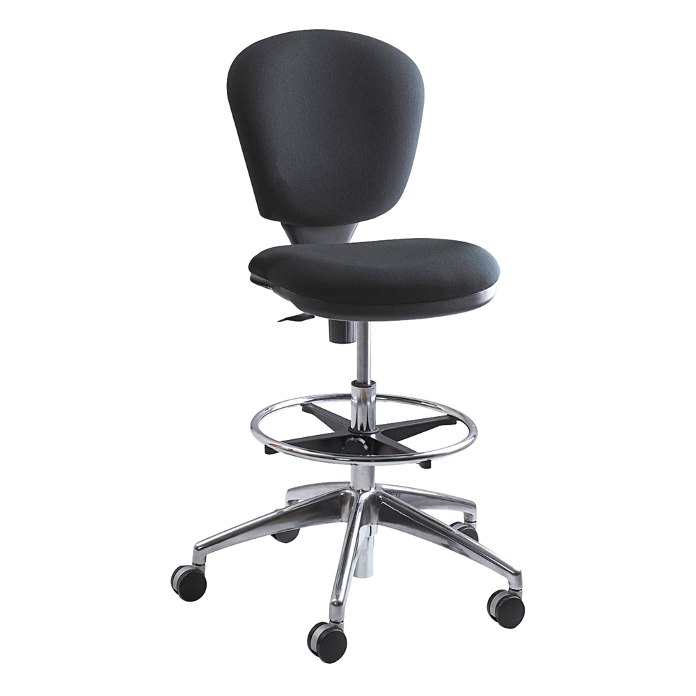 Metro™ Extended-Height Chair, Black. Picture 1